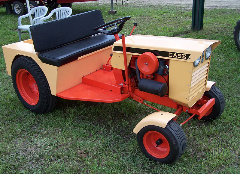 Case Lawn Mowers : History case colt ingersoll lawn and garden tractor forum