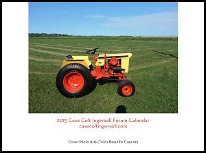 Case Colt Ingersoll 2014 calendar